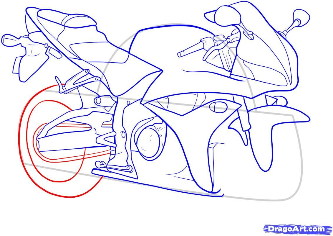 How to draw the car Cadillac (Cadillac ELR 2013) step by step 12