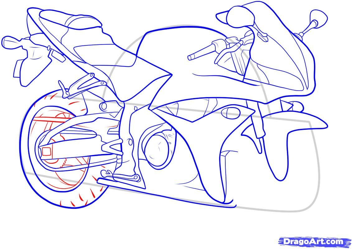 How to draw the car Cadillac (Cadillac ELR 2013) step by step 13