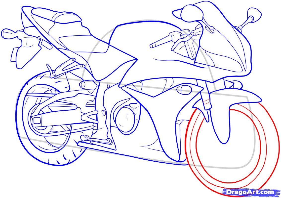 How to draw the car Cadillac (Cadillac ELR 2013) step by step 14