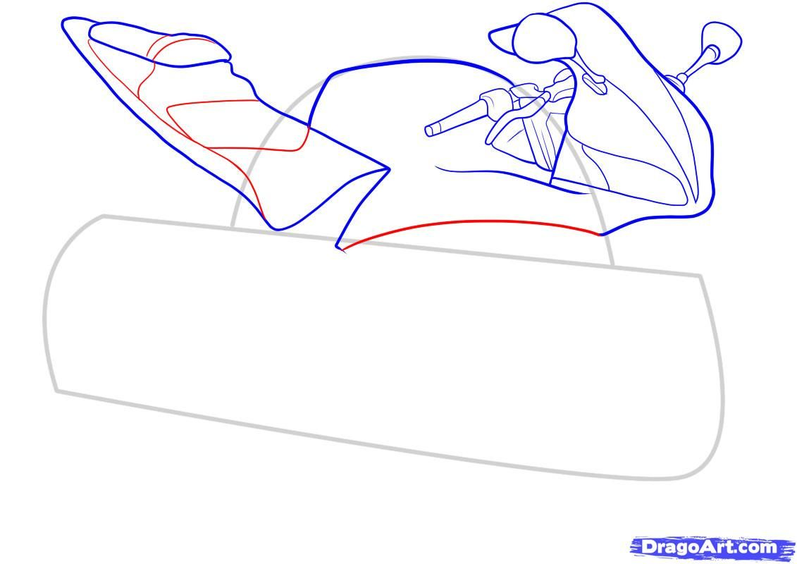 How to draw the car Cadillac (Cadillac ELR 2013) step by step 7
