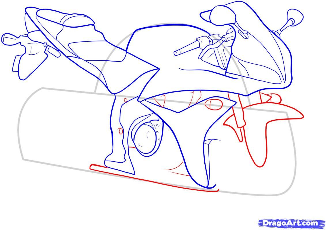 How to draw the car Cadillac (Cadillac ELR 2013) step by step 10