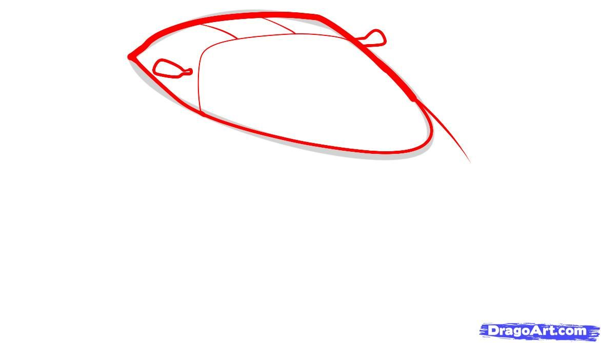 How to draw the F1 car step by step 3