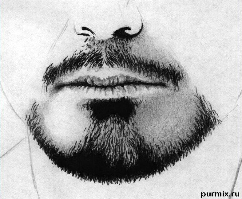 How to draw a portrait Thomas Cruz with a simple pencil on paper 6