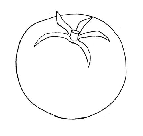 As it is easy to draw a donut with a pencil step by step 2
